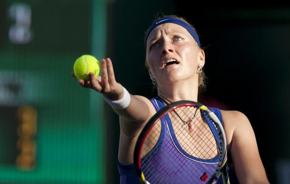 Kvitova over Serena, Sabalenka bounces Pliskova