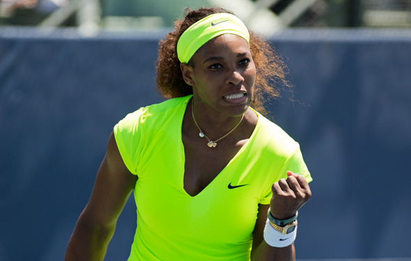 Serena has only lost five matches in 2012