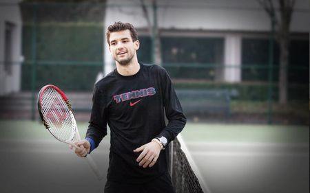 Grigor put in the hard yards in Sweden.