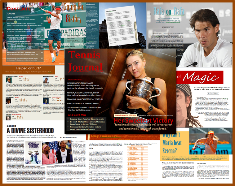 tennis journal june 2013