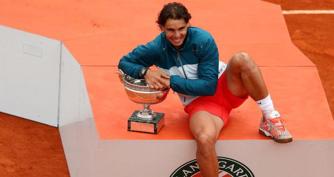 The champion: Nadal wins Paris again, crushed Wawrinka