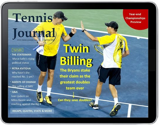 tennis journal oct 2013