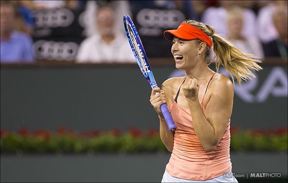 Sharapova returns but WTA players are not all pleased