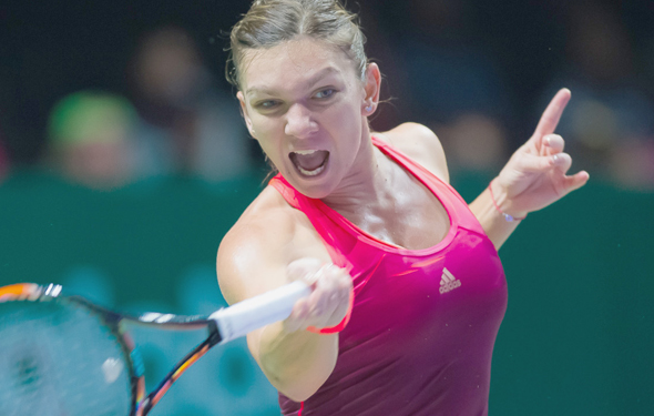 Halep continues to deal with an injury. Photo: Jimmy48