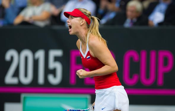Sharapova wins easily, but for how long?