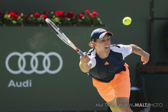 Djokovic folds, rising Thiem to face Nadal