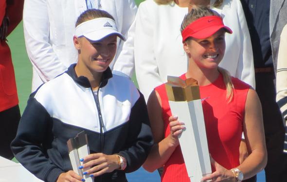 Elina Svitolina wins Toronto, smacks Wozniacki