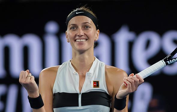 Bang, boom: Naomi Osaka & Petra Kvitova reach final