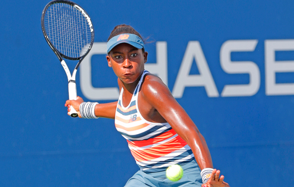 Who is the super young Cori Gauff?
