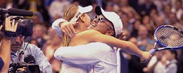 Maria Sharapova and dad