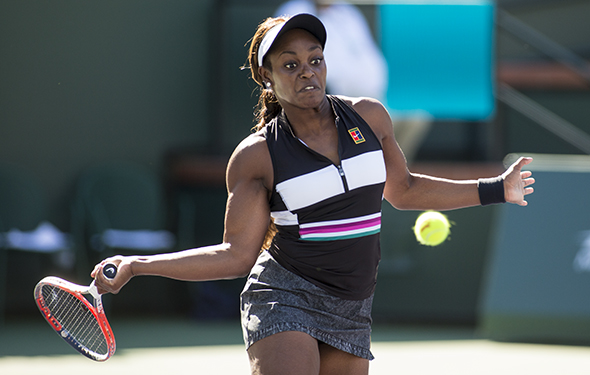 Sloane Stephens is hard to read