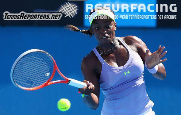 Sloane Stephens believes, shocks Serena